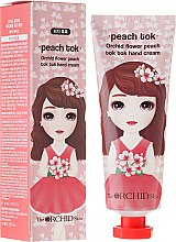 Parfumuri și produse cosmetice Cremă hidratantă pentru mâini - The Orchid Skin Flower Peach Tok Tok Hand Cream