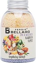 """Parfumuri și produse cosmetice Bile efervescente pentru baie """"Fructe tropicale"""" - Fergio Bellaro Tropical Cocktail Bath Caviar"""