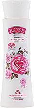 Parfumuri și produse cosmetice Cremă de duș cu ulei de trandafi - Bulgarian Rose Shower Cream