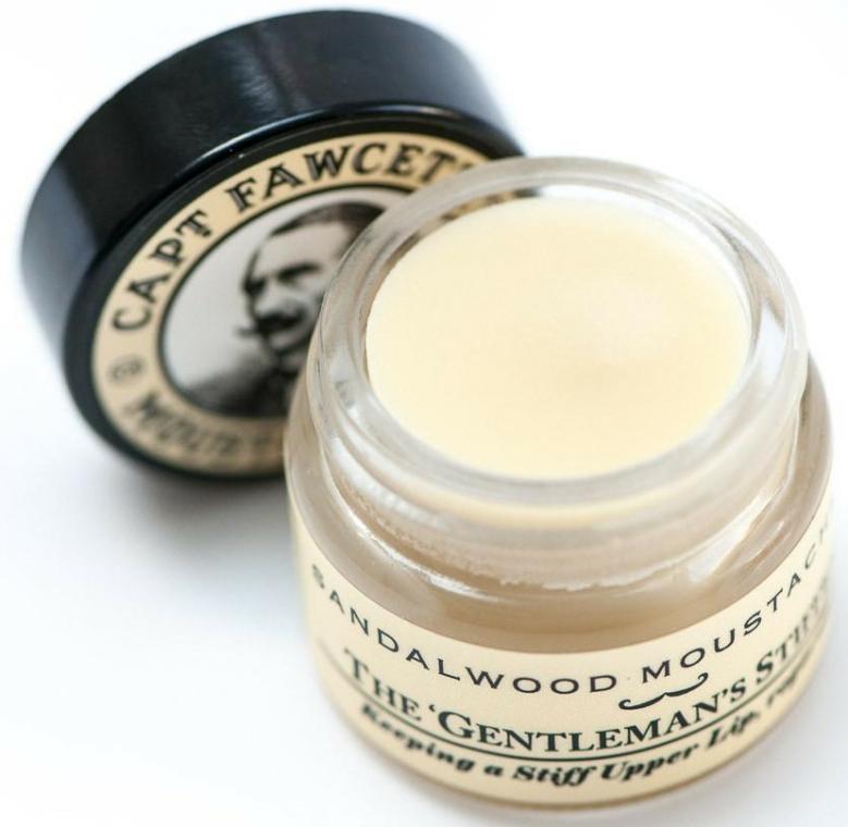 Set - Captain Fawcett Sandalwood (moust/wax/15ml + moustache comb) — Imagine N4