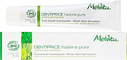 Parfumuri și produse cosmetice Pastă de dinți - Melvita Dentifrice Pure Breath Toothpaste