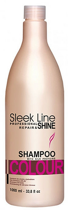 Șampon cu mătase - Stapiz Sleek Line Colour Shampoo