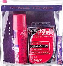 Set - Tangle Teezer Compact Styler Festival Pack (h/brush + d/shamp) — Imagine N1