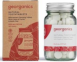 """Parfumuri și produse cosmetice Tablete pentru apă de gură """"Eucalipt"""" - Georganics Toothtablets Eucalyptus"""