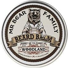 """Parfumuri și produse cosmetice Balsam pentru barbă """"Padurea de Pini"""" - Mr. Bear Family Beard Balm Woodland"""