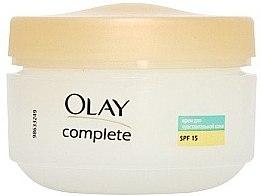 Cremă de zi acțiune triplă pentru piele sensibilă - Olay Complete Day Cream — Imagine N2