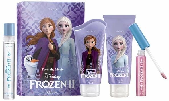 Avon From the Movie Disney Frozen II - Set edt/15ml + h/cr/50ml + lip/gloss/7m + gel/50ml) — Imagine N1