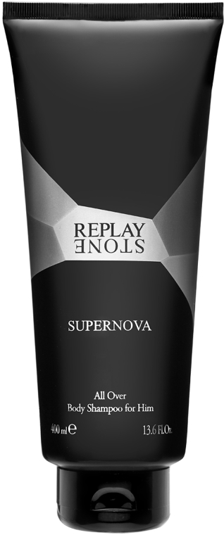 Replay Stone Supernova Man Body Shampoo - Gel de duș — Imagine N1
