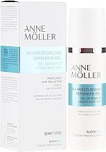 Parfumuri și produse cosmetice Gel pentru față - Anne Moller Blockage 24h Moisturizing Defender Gel