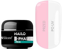 Parfumuri și produse cosmetice Gel de unghii - Silcare Nailo 1-Phase Gel UV Pink