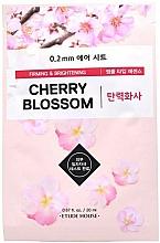 """Parfumuri și produse cosmetice Mască din țesătură pentru față """"Cherry Blossom"""" - Etude House Therapy Air Mask Cherry Blossom"""