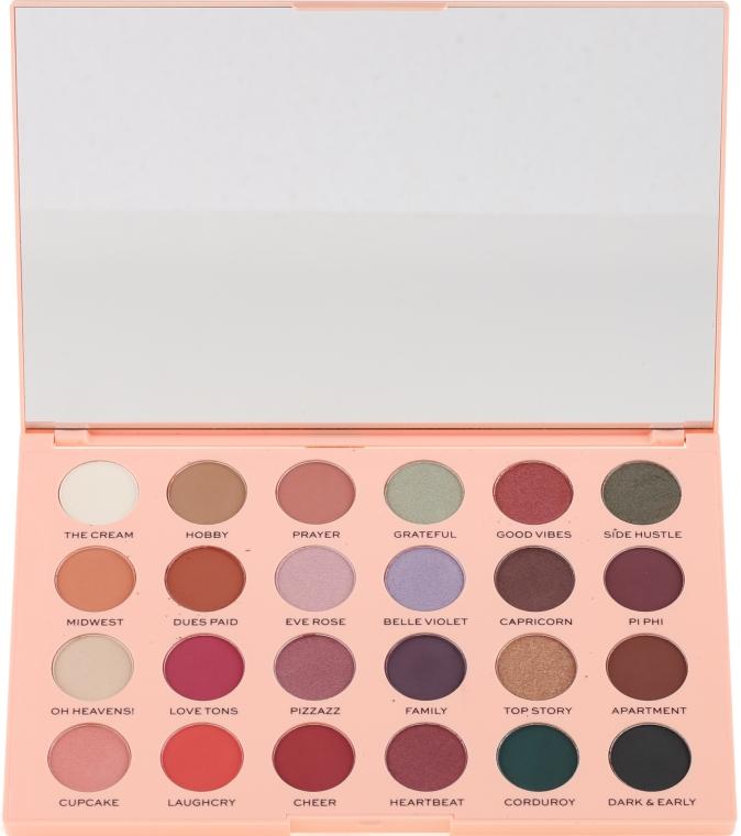Paletă fard de ochi - Makeup Revolution The Emily Edit The Wants Eyeshadow Palette