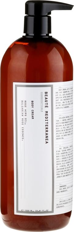 Cremă cu ulei de măceș și esență de trandafir bulgar pentru corp - Beaute Mediterranea Rose Hip Oil With Bulgarian Rose Essence — Imagine N3