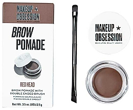 Parfumuri și produse cosmetice Pomadă pentru sprâncene - Makeup Obsession Brow Pomade