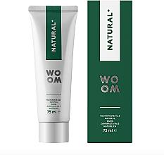 Parfumuri și produse cosmetice Pastă de dinți antibacteriană - Woom Natural+ Choice for Healthy Gums and Teeth