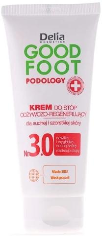Cremă hidratantă și regeneratoare pentru tălpi - Delia Good Foot Conditioning Regenerating Foot Cream