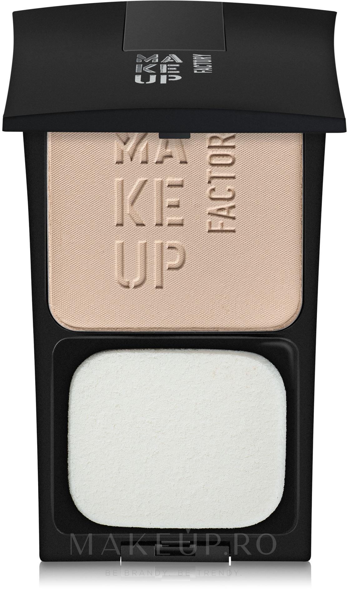 Pudră de față - Make Up Factory Compact Powder — Imagine 2 - Dark Butter
