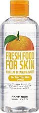 Parfumuri și produse cosmetice Apă micelară pentru ten normal - Superfood For Skin Micellar Cleansing Water Orange