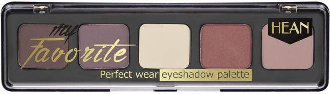 Paletă de nuanțe pentru pleoape - Hean My favorite Eye Shadow Palette