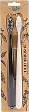 Parfumuri și produse cosmetice Set - The Natural Family Co Bio Brush Pirate Black & Ivory Desert (toothbrush/1pcs + toothbrush/1pcs) (2bucăți)