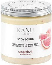 "Parfumuri și produse cosmetice Scrub pentru corp ""Grapefruit"" - Kanu Nature Grapefruit With Cranberry Body Scrub"