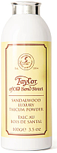 Parfumuri și produse cosmetice Taylor of Old Bond Street Sandalwood Luxury Talcum Powder - Talc