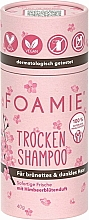 Parfumuri și produse cosmetice Șampon uscat pentru brunete - Foamie Dry Shampoo Berry Blossom