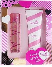 Parfumuri și produse cosmetice Aquolina Pink Sugar - Set (edt/100ml + b/lot/250ml)