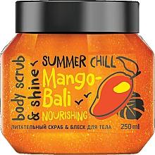"Parfumuri și produse cosmetice Scrub pentru corp ""Strălucire și nutriție"" - MonoLove Bio Mango-Bali Nourishing"
