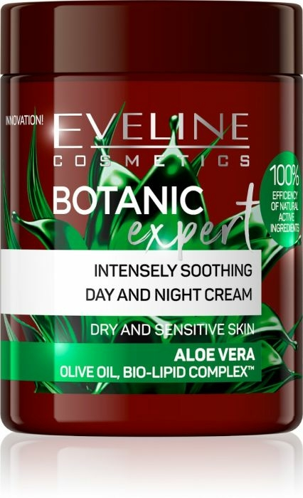 Cremă de față - Eveline Cosmetics Botanic Expert Aloe Vera Day & Night Cream