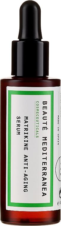 Ser pentru față - Beaute Mediterranea Matrikine Anti-aging Serum — Imagine N2