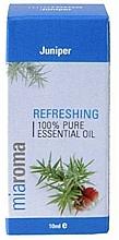 "Parfumuri și produse cosmetice Ulei esențial ""Ienupăr"" - Holland & Barrett Miaroma Juniper Pure Essential Oil"