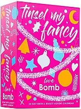 Parfumuri și produse cosmetice Set - Bomb Cosmetics Tinsel My Fancy 24 Day Bath & Beauty Advent Calendar