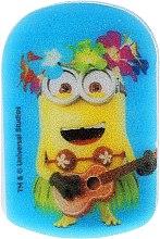 """Parfumuri și produse cosmetice Burete de baie """"Minions"""" pentru copii, albastru - Suavipiel Minnioins Bath Sponge"""