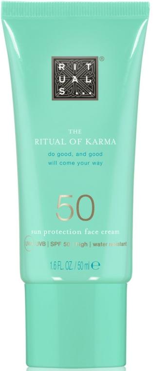 Cremă de față - Rituals The Ritual of Karma Sun Protection Face Cream 50