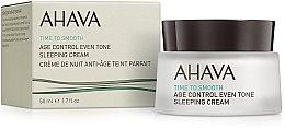 Parfumuri și produse cosmetice Cremă de noapte pentru față - Ahava Age Control Even Tone Sleeping Cream