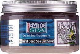 """Parfumuri și produse cosmetice Scrub de sare pentru corp """"Lavandă și Vanilie"""" - Saito Spa Aalt Body Scrub Lavenda&Vanilla"""