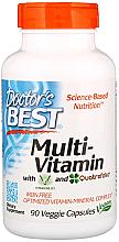 Parfumuri și produse cosmetice Multivitamine cu Vitashine D3 și Quatrefolic, capsule - Doctor's Best