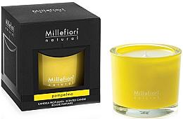 "Parfumuri și produse cosmetice Lumânare parfumată ""Grapefruit"" - Millefiori Milano Natural Candle Pompelmo"