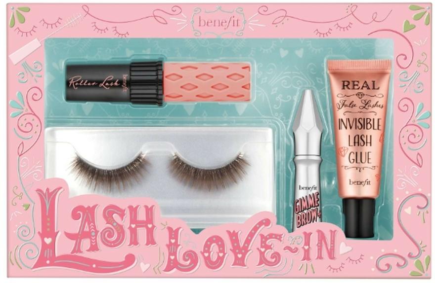 Set - Benefit Lash Love In (mascara/mini/4g+brow/gel/1,5g+lash/2+ lash/glue/7ml) — Imagine N1