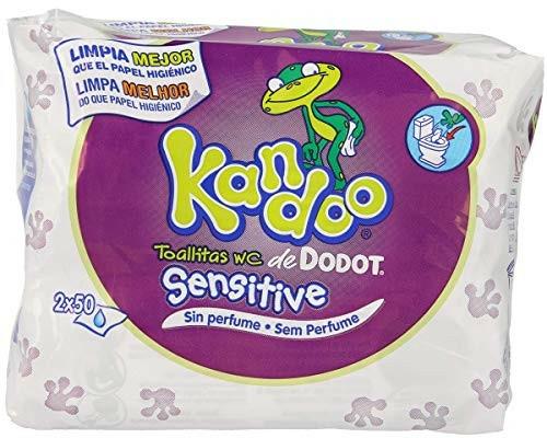 """Hârtie igienică umedă """"Kandoo"""" pentru copii - Dodot — Imagine N1"""