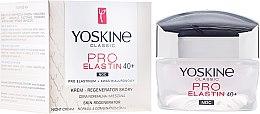 Parfumuri și produse cosmetice Cremă de noapte pentru piele normală și combinată - Yoskine Classic Pro-Elastin Face Cream 40+