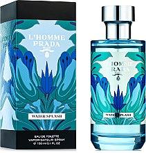 Parfumuri și produse cosmetice Prada L'Homme Water Splash - Apă de toaletă
