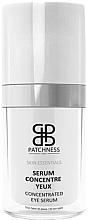 Parfumuri și produse cosmetice Ser pentru zona ochilor - Patchness Skin Essentials Consentrated Eye Serum