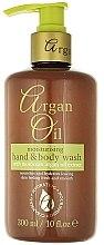 Parfumuri și produse cosmetice Săpun lichid cu ulei de argan - Xpel Marketing Ltd Argan Oil Moisturizing Hand Body Wash