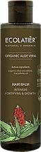 """Parfumuri și produse cosmetice Balsam de păr """"Consolidare și Creștere intensivă"""" - Ecolatier Organic Aloe Vera Hair Balm"""