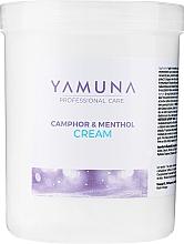 """Parfumuri și produse cosmetice Cremă pentru masaj """"Camfor-mentol"""" - Yamuna Camphoros Mentolos Cream"""