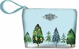 Parfumuri și produse cosmetice Trusă cosmetică - Institut Karite Paris Christmas Tree Small Pouch