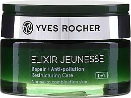 Parfumuri și produse cosmetice Cremă revitalizantă de zi - Yves Rocher Elixir Jeunesse Cream