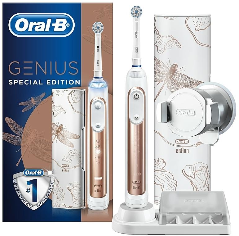 Periuță electrică de dinți - Oral-B Genius Special Edition Genius 10 000 Rose Gold — Imagine N1
